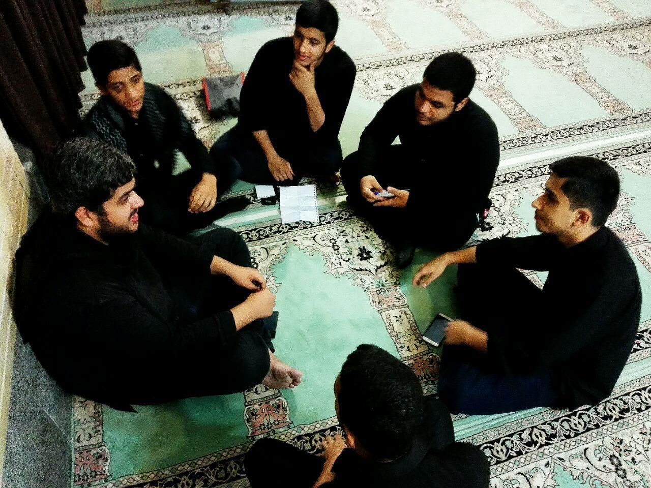 گزارش تصویری جلسه شورای فرهنگی مسجد